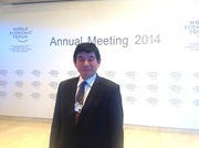 The Secretary General Mikuriya participated in a series of meetings at the occasion of the 2014 World Economic Forum's Annual Meeting in Davos,Switzerland, to discuss the way forward after the WTO Bali Ministerial Conference last December