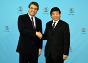 WCO and WTO leaders meet in Geneva