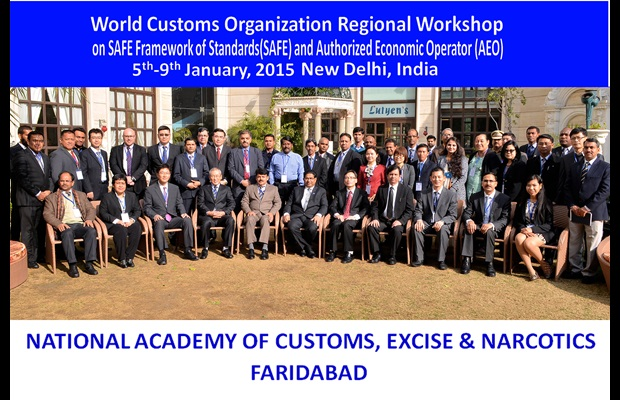 SAFE/AEO Workshop for Asia Pacific Region held in India