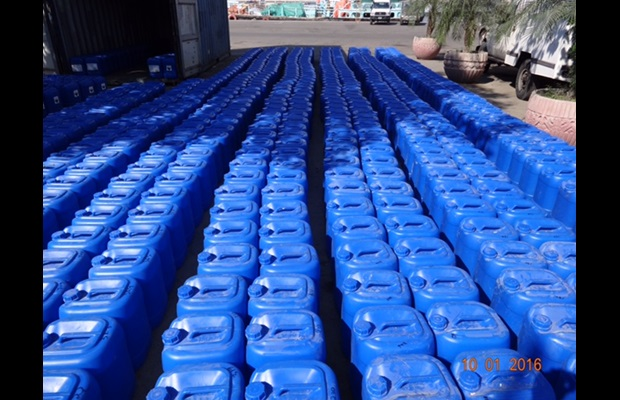 Seizure of nearly 22 tons of Acetic Anhydrite by Pakistan Customs