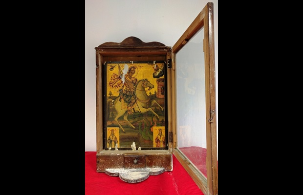 Seizure of a post-Byzantine painting by Greek police
