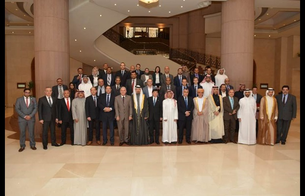 Group photo of the Regional Meeting of Directors General of Customs, WCO MENA region, held in Cairo, Egypt on 31 January 2019