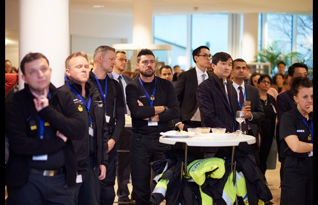 Guests gather at WCO headquarters to celebrate International Customs Day