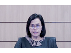 The Finance Minister of Indonesia, Ms. Sri Mulyani Indrawati, acknowledged the importance of Customs to build capacity in order to assist in the recovery process following the COVID-19 pandemic