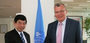 WCO Secretary General Kunio Mikuriya and UNODC Executive Director Yury Fedotov met in Vienna on 29 July 2014