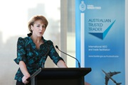 Australia's Assistant Minister for Immigration and Border Protection Michaelia Cash unveiled the programme on 8 July 2015