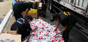 Millions of cigarettes seized during Operation GRYPHON II