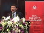 WCO Secretary General Kunio Mikuriya during his keynote address