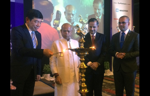 From left to right: Dr. Kunio Mikuriya, Shri Shiv Pratap Shukla, Shri S. Ramesh and Mr. Visvanath Das