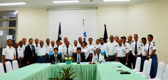 At the invitation of Timor-Leste's Customs Authority, WCO Secretary General Kunio Mikuriya visited Dili, Timor-Leste on 22 and 23 July 2019