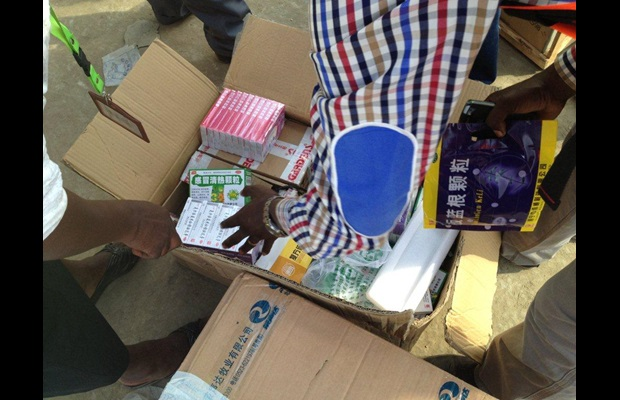 Record seizure of illicit medicines in Africa