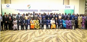 Group photo of the participants to the Second Regional Conference of Donors in the WCA region