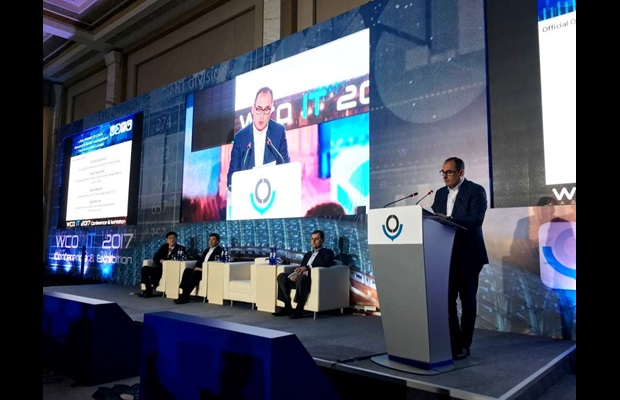 First Deputy Prime Minister and Minister of Finance, Georgia, Dimitry Kumsishvili while opening the conference