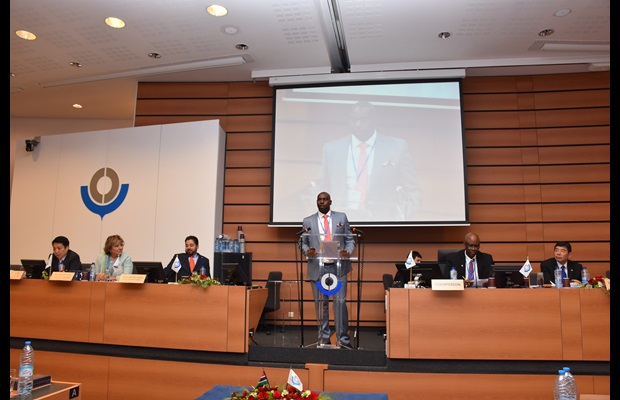 Mr. Dicksons Collins Kateshumbwa, Commissioner of Uganda Customs, was elected as the next Chairperson of the Council