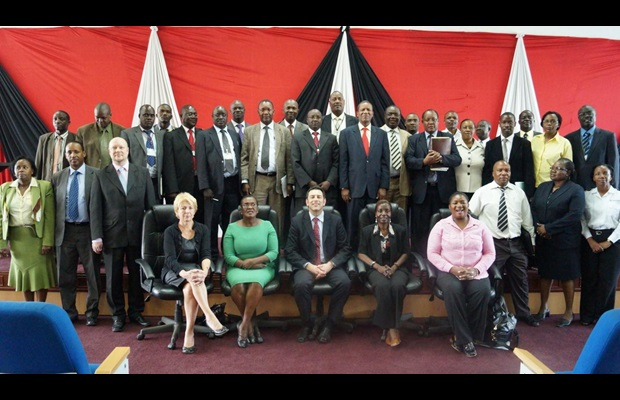 Participants at National Policy Dialogue held at the Convention Centre, KRA HQs, Times Tower, Nairobi