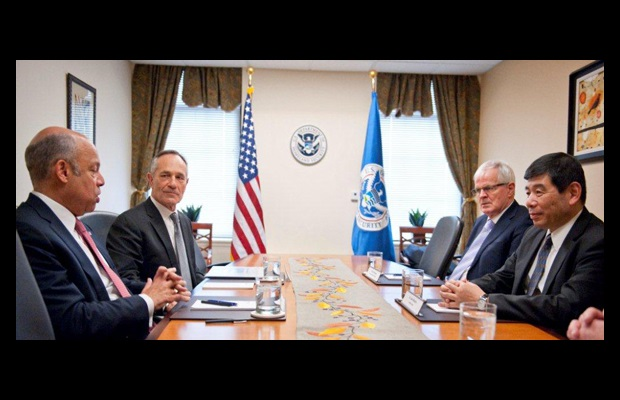 Secretary General meets Mr. J. Johnson, Secretary of Department of Homeland Security