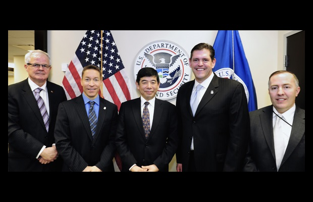 Ray McDonagh, Mr. D. Ragsdale, Acting Director, US Immigration and Customs Enforcement (ICE), Kunio Mikuriya, James Dinkins, Executive Associate Director, ICE and David Thompson, Deputy Director of International Affairs, ICE