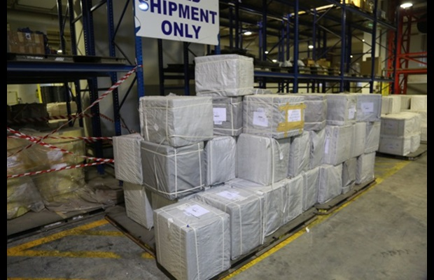 3,000,000 tramadol tablets seized at Dubai Airport (United Arab Emirates) in the air freight sector