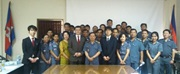 Workshop on the implementation of the Customs Laboratory in Cambodia