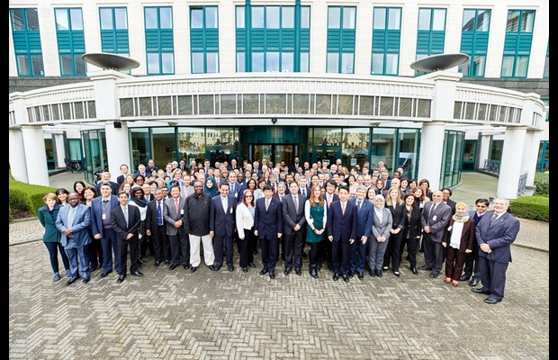 The special commemoration session celebrating the 30th Anniversary of the Harmonized System (HS) Convention was attended by some 150 representatives from Member administrations, international organizations, invited guests and the WCO Secretariat