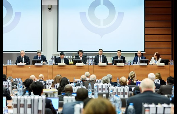 A special commemoration session celebrating the 30th Anniversary of the Harmonized System (HS) Convention was held at the beginning of the 61st Session of the HS Committee