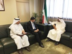 DG of Kuwait Customs Mr. Jamal Al-Jalawi, WCO SG Dr. Kunio Mikuriya and Minister of Finance Dr. Nayef al-Hajra