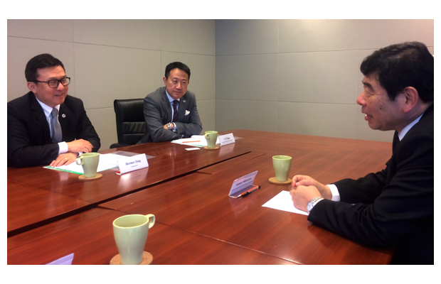 The Secretary General met with Commissioner Tang and his management team in Hong Kong