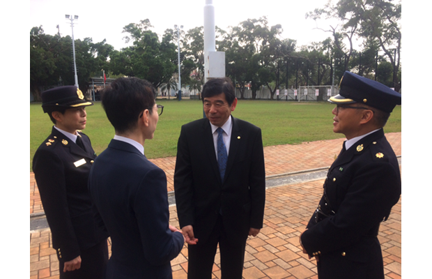Dr. Mikuriya took the opportunity to pay a visit to Hong Kong Customs College, which also serves as a WCO RTC