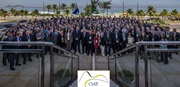 Delegates participating in the CIAT General Assembly held in Rio de Janeiro, Brazil, May 2014