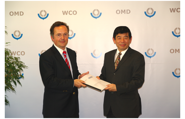 The study by Frontier Economics was presented by Mr. Carlos Grau Tanner, the Director General of the GEA, to Dr. Kunio Mikuriya, Secretary General of the WCO.