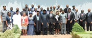 Group photo of the President of Nigeria Jonathan and WCO Secretary General Mikuriya with the Heads of Customs of West and Central Africa at the occasion of the WCO Regional Meeting