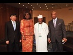 The Minister of Finance of Nigeria Kemi Adeosun was among the speakers who addressed the delegates