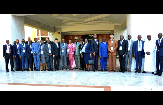 Group Photo of the Conference of Directors General of Customs of West and Central Africa held in Dakar, Senegal