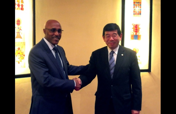 Director General of ERCA Ato Kebede Chane and WCO Secretary General