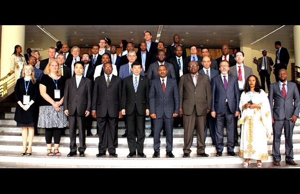 Group photo of the 1st WCO Global Origin Conference in Addis Ababa, Ethiopia