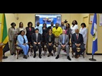 WCO Secretary General Mikuriya with the Jamaica Customs Agency Management Team