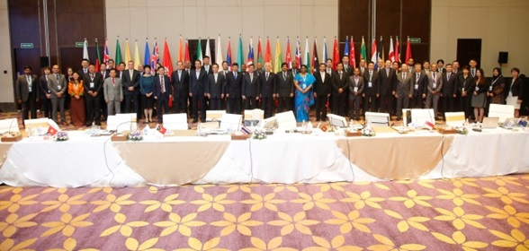 WCO Secretary General Kunio Mikuriya at the 20th Asia/Pacific Regional Heads of Customs Administrations Conference held in Kochi, Kerala, India from 8 to 10 May 2019