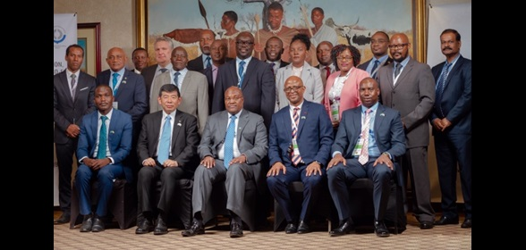 WCO Secretary General Kunio Mikuriya at the 24th East and Southern Africa Region Governing Council Meeting, held in Gaborone, Botswana on 23 and 24 May 2019