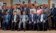 WCO Secretary General Kunio Mikuriya with the Directors general of the East and Southern Africa (ESA) Region at the 24th Region Governing Council Meeting, held in Gaborone, Botswana on 23 and 24 May 2019