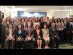 The WCO Deputy Secretary General, Sergio Mujica, with the AEO event participants