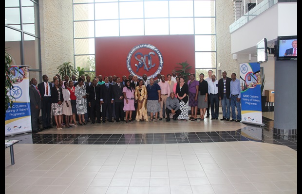 SADC organizes a Customs Training of Trainers Course on NTBs in cooperation with the WCO