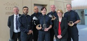 Representatives from the UK Border Force and the UK National Crime Agency collected the award from WWF's Living Planet Centre in Woking on Monday 24th November