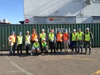 Officers of the Joint Cargo Container Control Units in Bosnia and Herzegovina (JCCCU) of Bosnia and Herzegovina and of Montenegro had the opportunity to participate in a three-day Work Study Visit to the Port of Rijeka in Croatia