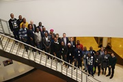 Trainee Customs officers from French-speaking African countries, training at the Belgian Customs School, visit WCO Headquarters in Brussels