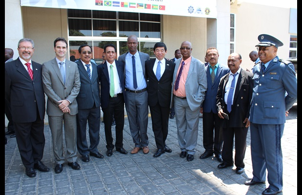 Group photo of the CPLP Directors General of Customs