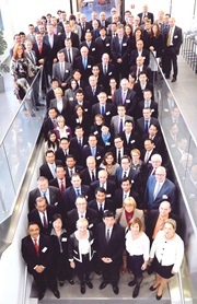 Participants at the 10th ASEM Meeting pose for a group photo
