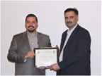 Appreciation of the US DHS/HIS to WCO PGS accredited trainer from FBR Pakistan