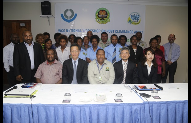 National Post-Clearance Audit (PCA) Workshop in Papua New Guinea