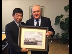 WCO Secretary General Kunio Mikuriya and Mr. Vladimir Bulavin, Head of the Federal Customs Service of the Russian Federation, meet at the occasion of the XVIII International Exhibition