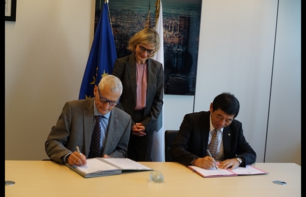 Signing ceremony for the HS Programme in Africa between the EU and the WCO